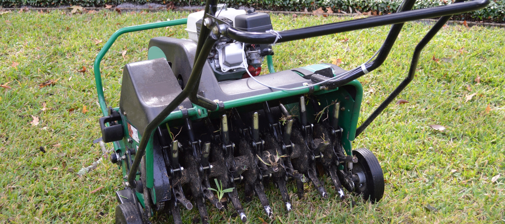 Fall Care For Healthy Spring Lawns - Grass Over-seeding and Lawn Aeration Springfield MO