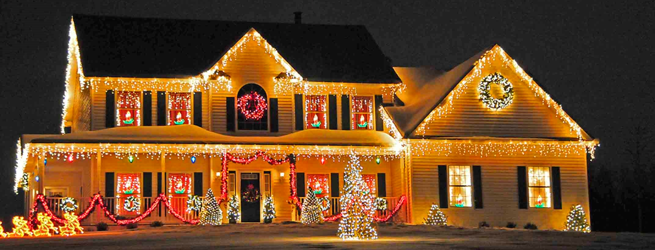 Download Christmas Lights On House